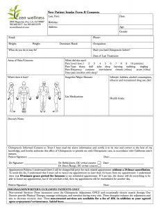 New Patient Forms |